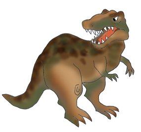 dinosaur pictures T. rex