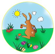 Easter bunny clipart funny easter bunny