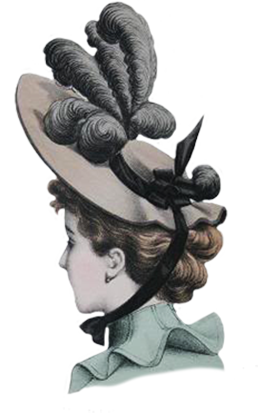 latest fashion tips in Victorian hats