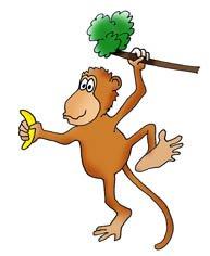 funny-monkey-drawings-banana