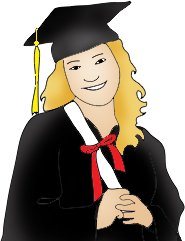 graduation images girl diploma color