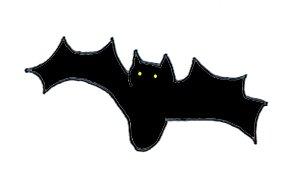 Halloween clipart bat