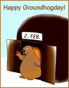 happy Groundhogday