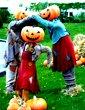 halloween holiday clipart dancing pumpkine men