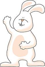 clipartqueen Easter bunny