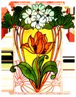 logo art nouveau gallery