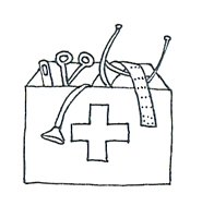 first aid kit coloring sheets printable coloring pages medical clipart medical images