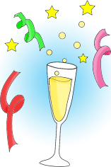 new-years-clipart-glas-serpentines-2