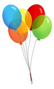 party clip art transparent balloons