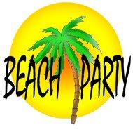party clip art beach party sun palm