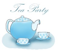 party clip art tea party