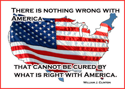 quote William J. Clinton 4th of July