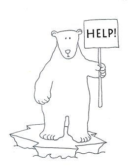 endangered polar bears help