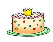 cake for princess party