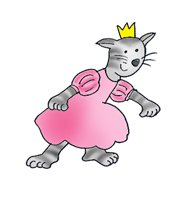 princess clip art cat princess