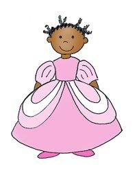princess in pink dress