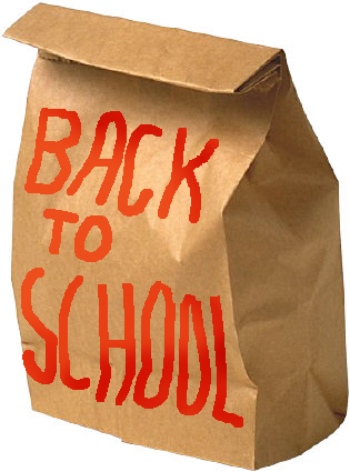 school clipart paper lunch bag back to school