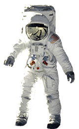 space clip art astronaut