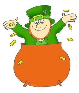 funny st patricks day clipart
