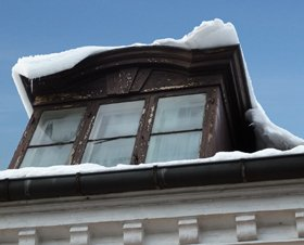 winter pictures old window with snow