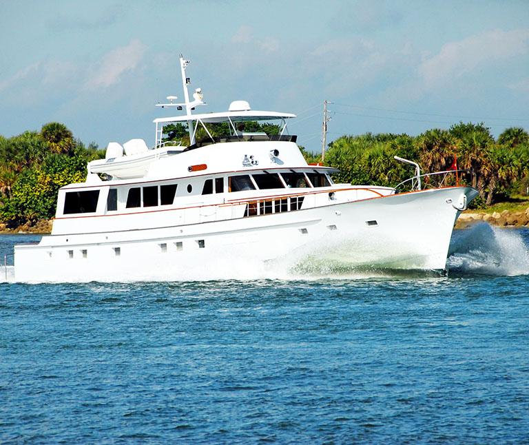 yacht crusing