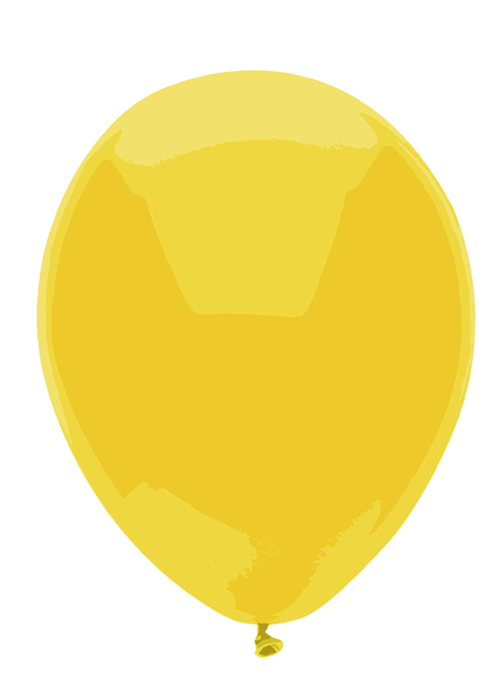 Yellow balloon image