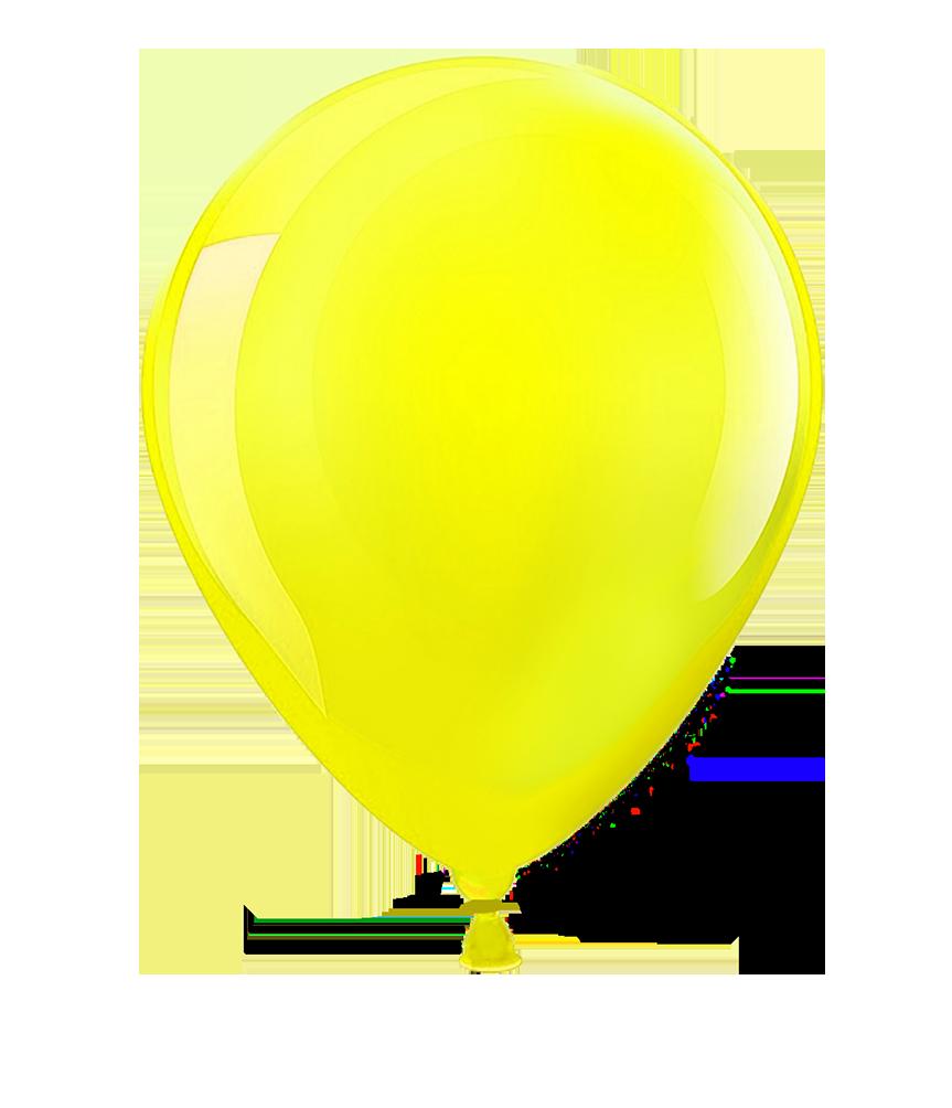 yellow shining balloons images